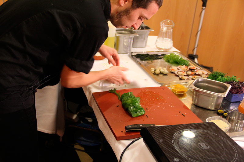 taller javier fins cocina atantica