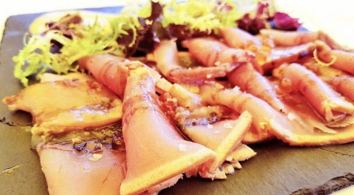 Receta de sashimi de atún del hotel Talaso Atlantico