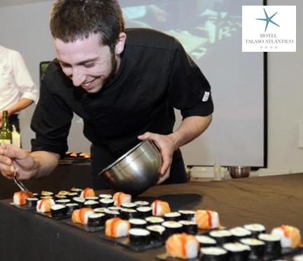 Taller de cocina saludable con el chef javier fins de HTA