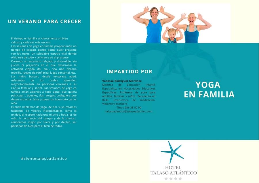 Yoga en familia en HTA