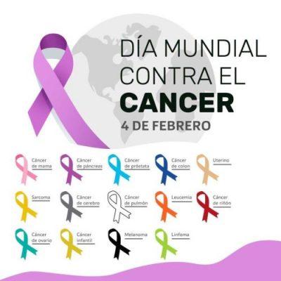 4 de febrero dia mundial contra el cáncer