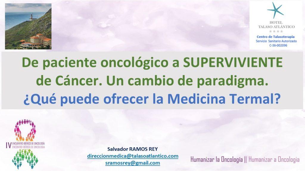 Curso Medicina Termal Cáncer - Doctor Salvador Ramos