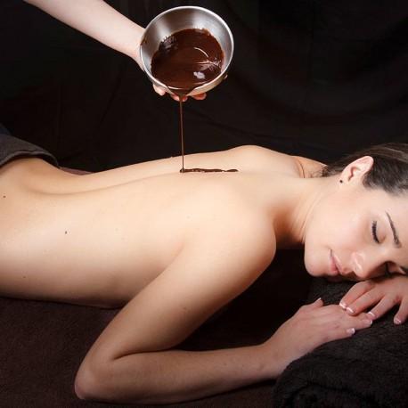 Tratamiento de cacao y agua marina