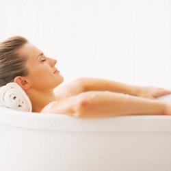 Bañera Niágara con agua de mar