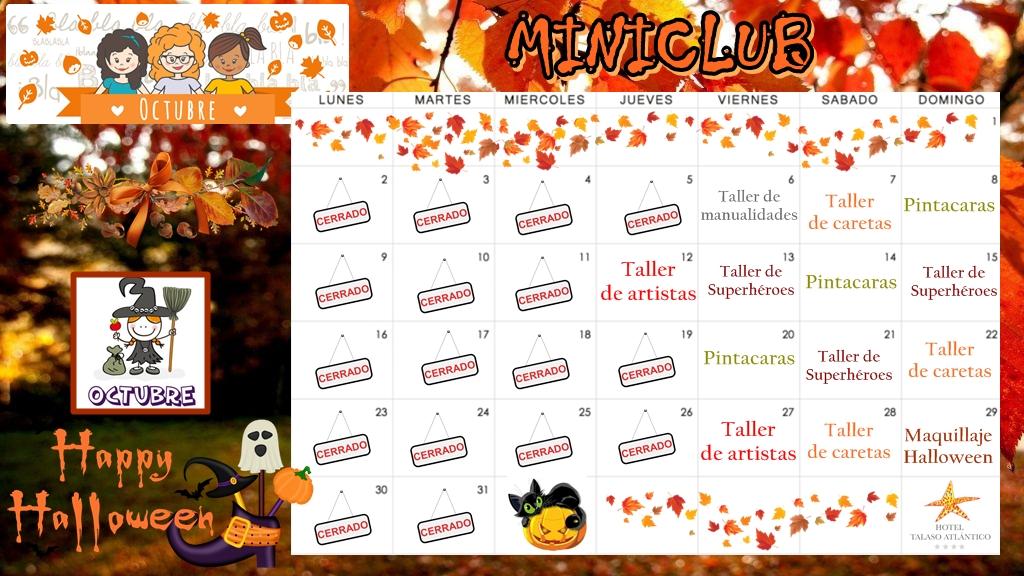 Miniclub: actividades para niños en el hotel Talaso Atlantico